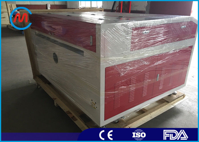 100w Industrial Fabric Laser Engraving Machine Import Linear Lead Rail  Easy Operation