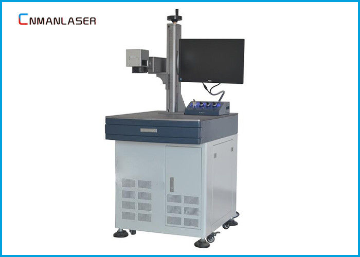 Plastic Wood 20w Metal Tube CO2 Laser Marking Machine With Low Power Consumption