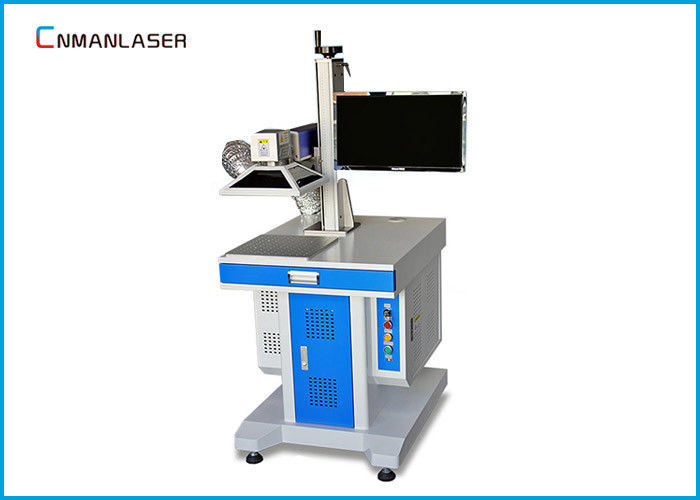 Single Phase 110V 220V 20w Metal Laser Marking Machine For SD Card Shafts / Bearings