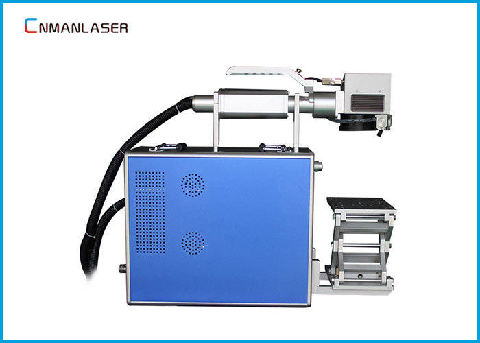 Mobile Watch Phones 10w 20w Handheld Type Fiber Laser Marking Machine With 110*110 mm